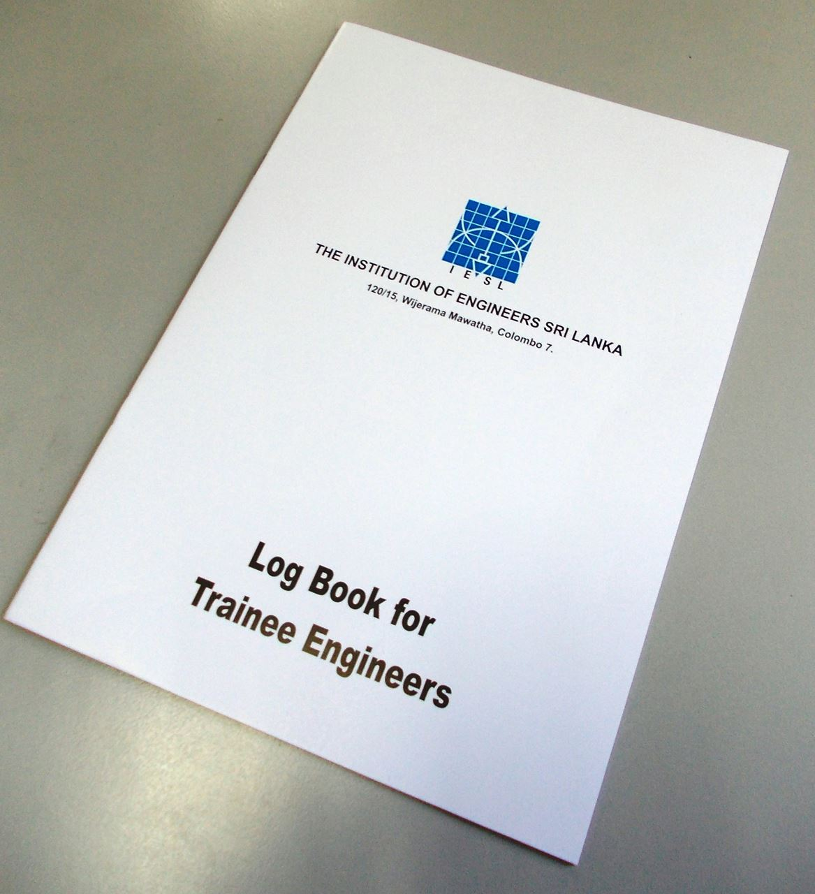 Log Book for Trainee Engineers